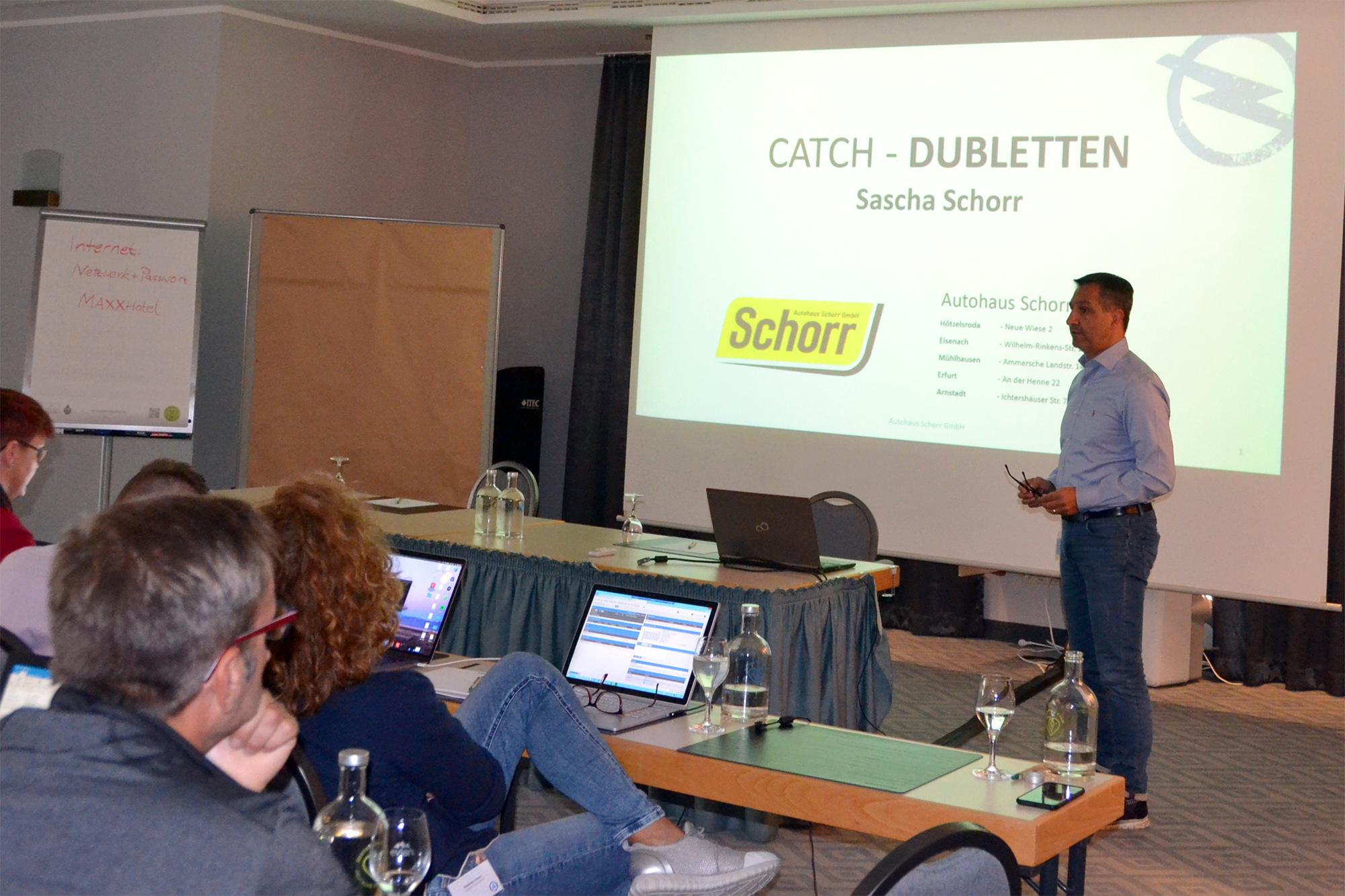 OPEL CATCH-Anwendertreffen 2019 - Gastvortrag AH Schorr